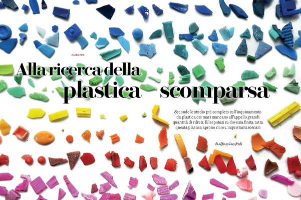 """""""Alla ricerca della plastica scomparsa"""", Le Scienze"""